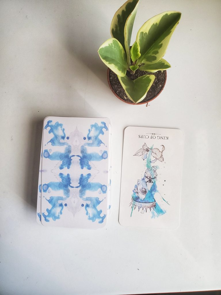 The King of Cups, Reversed