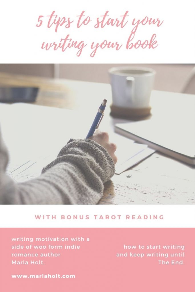 five tips to start writing your book and keep writing until the end